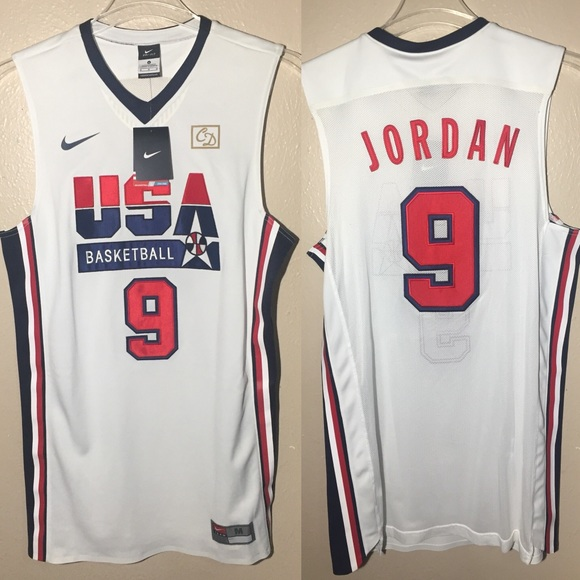 676c30220601 Michael Jordan 1992 USA Dream Team Olympic Jersey
